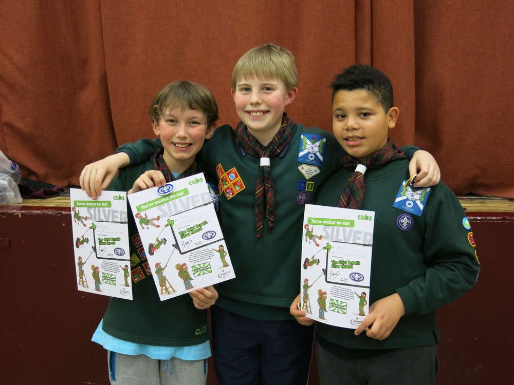 Chief Scout Silver for Stamperland Cubs