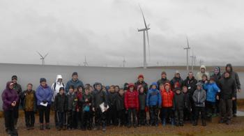 Cubs at Whitelee Wind Farm